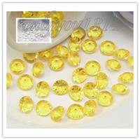 Wholesale 500 Pieces Carat citrine clear Diamond Confetti mm Wedding Party Xmas Favour Decor Table Scatter