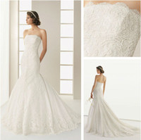 Trumpet/Mermaid Reference Images Chiffon WD13300 Nice Lace Fabric Grecian Style Mermaid Series Wedding Dress 2014