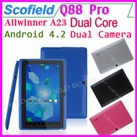 epad - 7 Inch Q8 Q88 Pro F1 Android Tablet PC Allwinner A23 Dual Core Epad Android Dual Camera Capacitive Screen