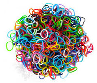 Link, Chain Other Children's Refill Bands & Clips Mixed Colors (Assorted GLOW In The DARK) 600 Silicone bands with 25 S clip