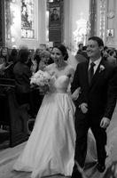 Wholesale New Custom make Sweetheart Empire Chapel Train satin Beads Wedding Dresses f new