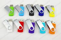 DHL Promoción 64GB populares USB memory stick estilo de rotación Flash Drive 100pcs con DHL Fedex tienda cocoshop856
