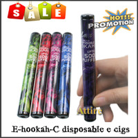 Electronic Cigarette Set Series  E Hookah Electronic Cigarette Disposable E Cigarettes e hookah portable e-shisha Pipes Sticks pen Ehookah-C Uran Style Atomizer E Liquid hot