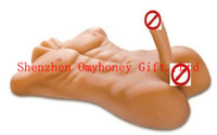 Wholesale 2014 New Silicon Sex Doll for Female with Dildo cm Huge Penis for Vagina Sex toys for Women Sex Love doll