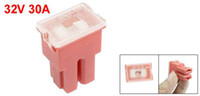 auto fuse link - Freeshipping A Amp Pacific Type Female Slow Blow Auto Link PAL Fuse Pink