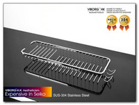 Wholesale 304 viborg stainless steel bathroom hardware accessories xs shower room shelf