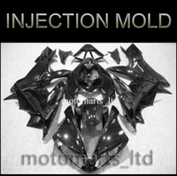 Wholesale INJECTION MOLDING YZF R1 all brilliant black pure black Body Kit fairing for Yamaha YZF R1 YZFR1 A