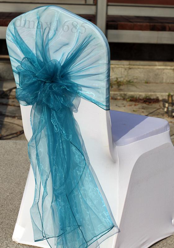 Sashes Bow Chair Cover