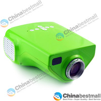 Wholesale New EJL E03 MINI Home Theater LED LCD Projector Lumens USB VGA HDMI P HDTV DHL