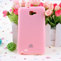 Wholesale TPU cover Gel protector skin shell case cases for Samsung Galaxy Note N7000 i9220