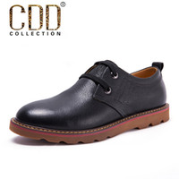 Wholesale Cdd autumn shoes first layer of cowhide fashion commercial casual shoes genuine leather fashion male leather