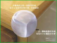 Wholesale Christmas Gifts Baby kids safety transparent security Corner Edge Cushions care anticollision pad Soft PVC desk round corner pad