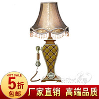 Wholesale Fashion phone table lamp american classical telephone vintage telephone fashion phone