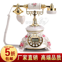Wholesale Fashion white phone rustic telephone home fashion telephone vintage telephone