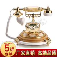 Wholesale Fashion antique telephone american classical telephone jade telephone