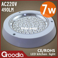Wholesale Free shppping W led kitchen light AC220V Cool white Warm white SMD W led furniture light