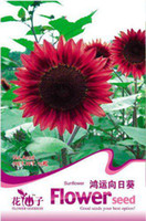 Wholesale ORIGINAL PACKS SEEDS LUCKY RED SUNFLOWERS FLOWER SEEDS PLUS MYSTERIOUS GIFT