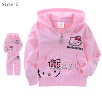 Girl Summer Short Children's Sets Baby Sets 2014 Girls Baby Long sleeve hoodies+ pants 2 pc set Children's clothing