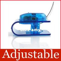 Wholesale Adjustable Mini Bright LED Clip on Book Reading Light