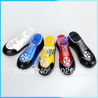 Wholesale NEW Shoes Shape Radio Mini Portable Stereo Toy Music Speaker DH With Micro SD Card Usb Slot