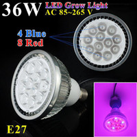 Wholesale w E27 V High power LED Grow light for flowering plant and hydroponics system Limited Time Offer