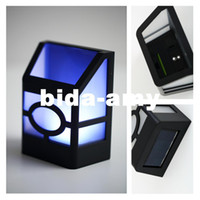 Wholesale Solar Powered Wall Mount LED Lantern Light Outdoor Landscape Garden Lamp