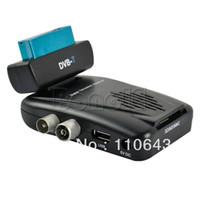 14860# connect to antenna connect to antenna Mini Digital Scart TV Tuner Box DVB-T Girevole 180degree Free terrestrial View Receiver 14860