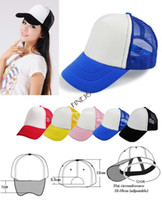 Wholesale 5pcs New Casual Unisex Classic Trucker Baseball Cap Golf Mesh Cap Hat Drop shipping