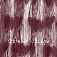 Wholesale New Wine Red Line Curtain String Curtain String panel Fringe panel Door Window Curtain cm cm