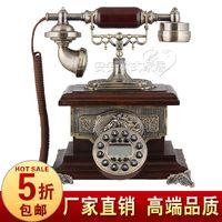 Wholesale Fashion antique telephone american classical telephone old fashioned wood telephone antique telephone