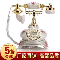 Wholesale Fashion phone rustic telephone white antique telephone fashion phone
