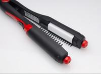 Wholesale Multifunctional hair straightener roller hair straightener pear four in one Freeshipping