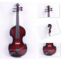 Wholesale High quality electronic violin Red and Black size