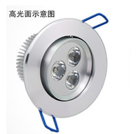 Wholesale 10Pcs w led downlight dimmable cool warm white lamp ceiling living room led lights drop for home