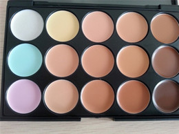 Wholesale 15 color concealer palette brand new makeup case FreeShipping Via DHL