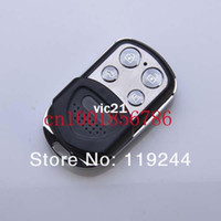 Wholesale Black MHZ MHZ RF Wireless Remote Control Self Copy Duplicating Face to Face FM Adjustable Frequency Dazzle Button