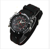 Wholesale Watch camera Video Recorder GB Hidden Camera DVR Waterproof Camcorder