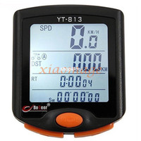 Wholesale Mini MTB Bicycle Bike Waterproof LCD Backlight Bike Computer Odometer Stopwatch with Functions