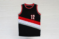 Wholesale 2014 New Basketball Jerseys Black LaMarcus Aldridge Trail Blazers Revolution Performance Jersey Best Selling Mens Athletic Apparel