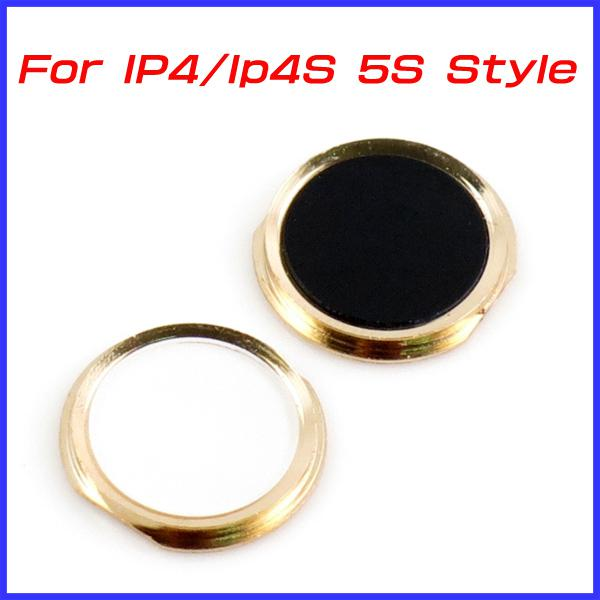 For IPhone 4 4S Home Button Look Like IPhone 5S For IPhone4 IPhone4S  Navigator Key DHL EMS MOQ For Iphone 4 4s Design Iphone4s Home Button Key  I4S Navigator ...