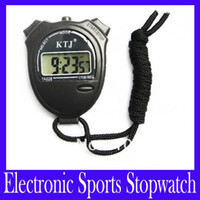 Wholesale TA228 electronic standard stopwatch Display time calendar and alarm