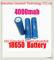 Wholesale Super fastshipping li ion rechargeable battery MAH battery FOR LED Flashlight LED Torch and Toys churchill