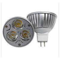 Wholesale 3W MR16 LED Lamp High Qulity Aluminium LED Spot Light Waem White And Pure White LED Bulb High Power LED Downlight Cheap LED Lighting Bulb