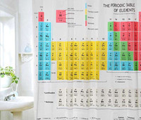 Wholesale Big Bang Theory shower curtain waterproof bathroom shower curtain Hot Sale