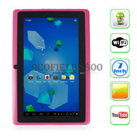 Wholesale Android kitkat Allwinner A23 dual core tablet PC Q88pro Q88 Q8 GHz inch Tablet PC Dual Core Capacitive MB GB