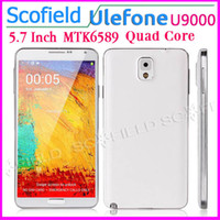 "Ulefone 5.7 Android 4.2 5.7"" HD Ulefone U9000 N9002 Note3 N9000 Android Cell Phone MTK6589 Quad Core 1G RAM 8G ROM 720P 3G Android 4.2"
