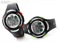 Wholesale 30pcs Luxury ZGO new colorful electronic watch children watch waterproof sports men and women