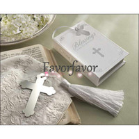 Wholesale Cross Bookmark Wedding Favors Great Party Favors Bridal Shower Birthday Gifts Cross Shape Bookmark Favors