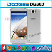 Wholesale DOOGEE BIG BOY DG600 Android Cell Phone G ROM MTK6572W Dual Core GHZ With Inch IPS Screen G GPS MP camera CB0862 WEIL