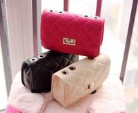 Wholesale New arrival colors children princess bag kids chain style messenger bag K0137